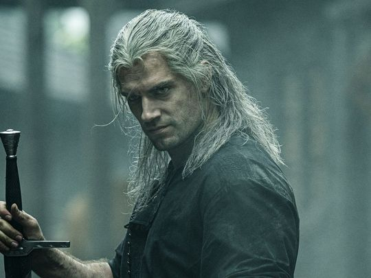 Henry Cavill in 'The Witcher'-1597728506152