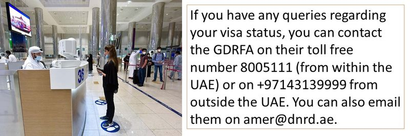 Queries regarding Dubai visa