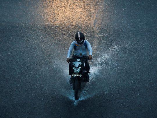 Rain mask India