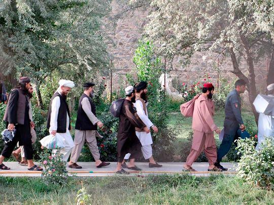 Taliban prisoner release