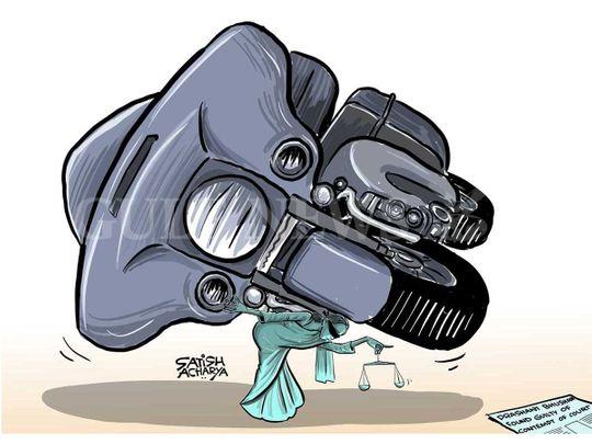 20200918 cartoon by Satish Acharya