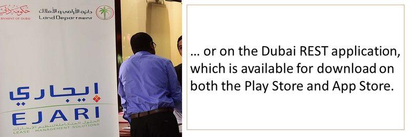 Dubai REST application