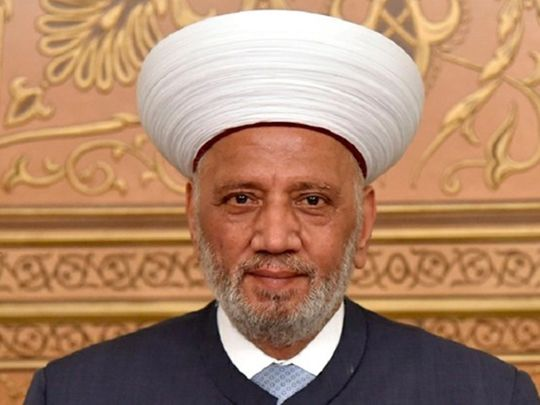 REG 200819  Grand Mufti Sheikh Abdul Latif Derian-1597840042732