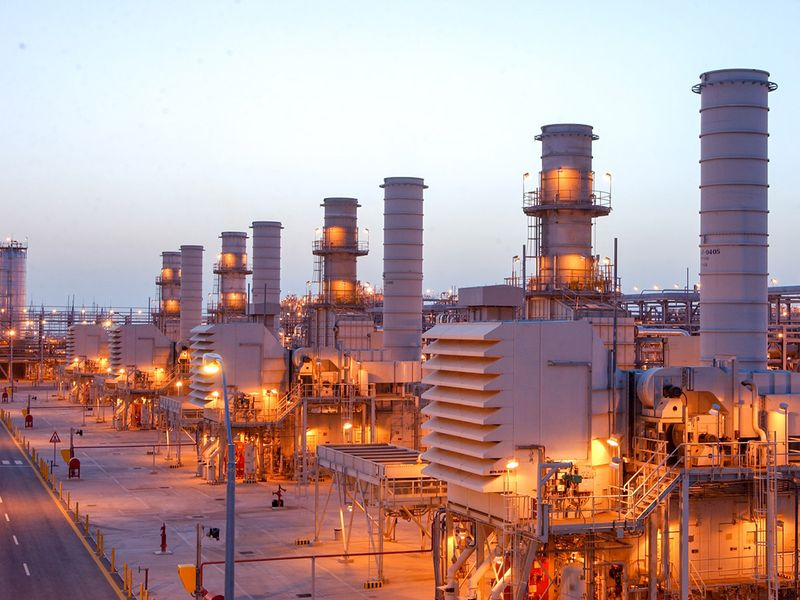 Saudi oil Aramco refinery