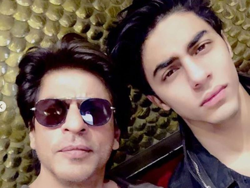 Shah Rukh Khan with his son Aryan Khan