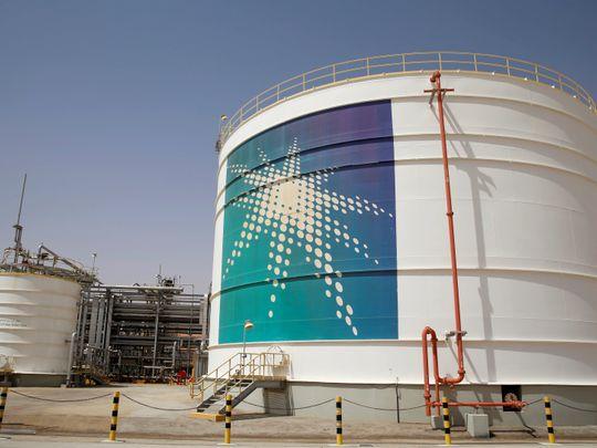 Stock Saudi Aramco oil refinery