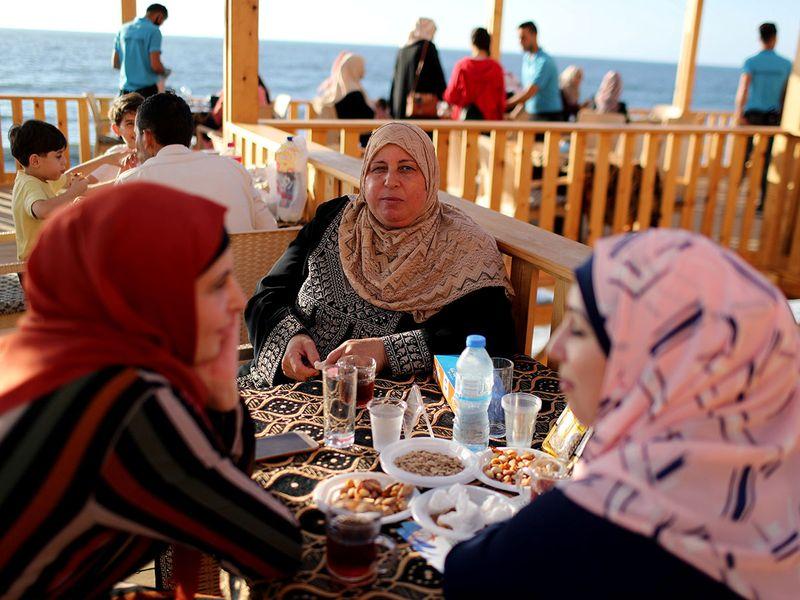 Palestine cafe