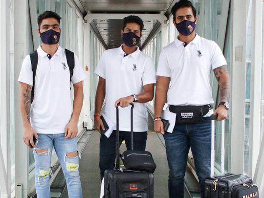 Kolkata Knight Riders head to UAE for IPL 13