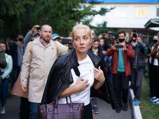 Navalny wife Yulia