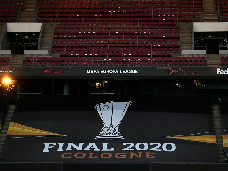 The RheinEnergieStadion in Cologne is the venue for the Europa League final
