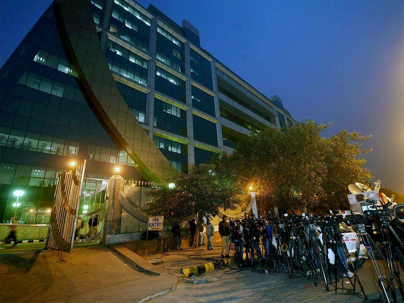 Central Bureau of Investigation (CBI) headquarters in New Delhi.