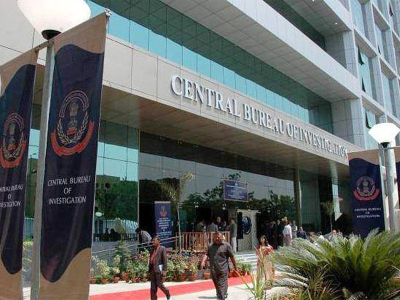 Central Bureau of Investigation (CBI) office in New Delhi.