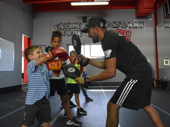 Instilling the right attitude in children is central to coaching at Real Boxing Only