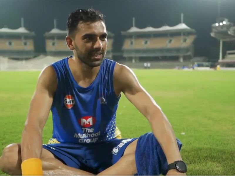 Deepak Chahar speaks about his love for Chennai