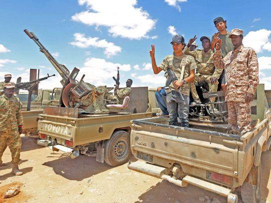 Libya fighitng