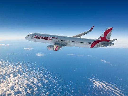 STOCK Air Arabia Sharjah
