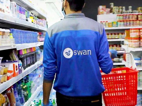 SWAN UAE food delivery App