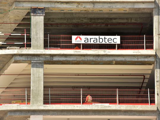 Stock Arabtec properties Dubai