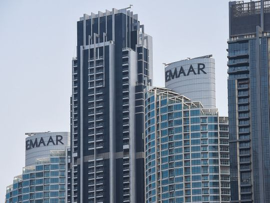 Stock Emaar properties Dubai