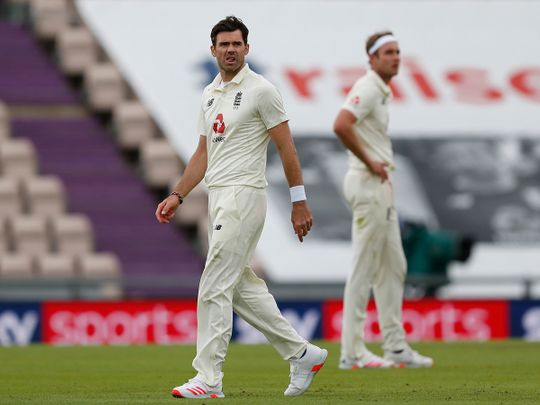 James Anderson is nearing the 600-wicket mark