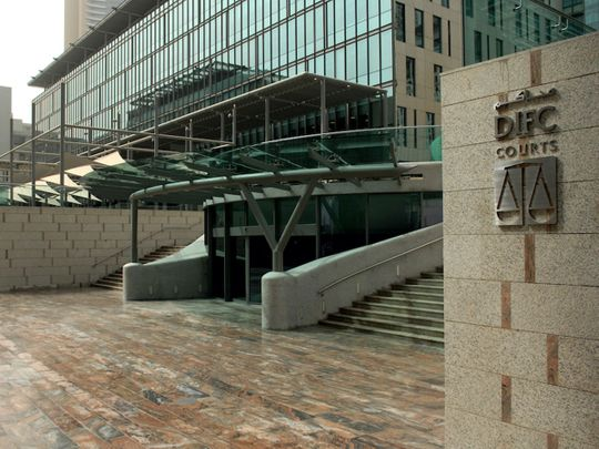 STOCK DIFC Courts
