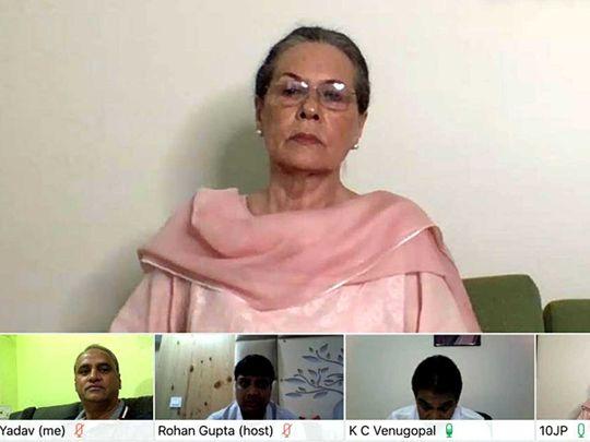 Sonia Gandhi India Congress