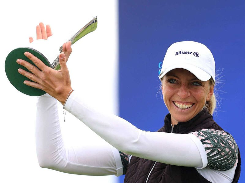 Sophia Popov won the Women's British Open