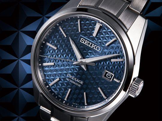 Seiko-Presage-Sharp-Edge-Series_SPB167_-SARX077_Asanoha-Motif-dial