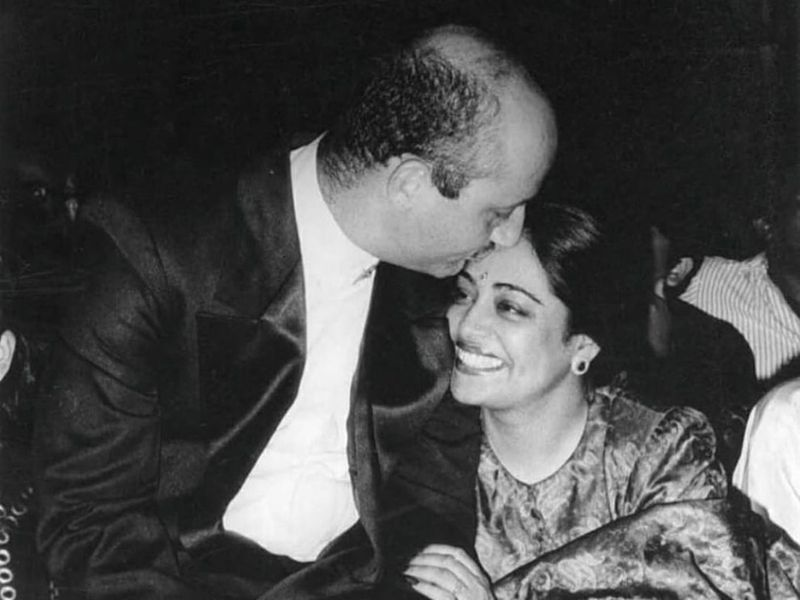 Anupan and Kirron Kher