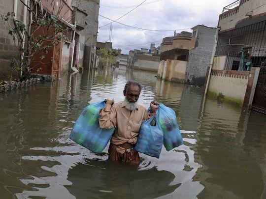 Karachi Pakistan floods