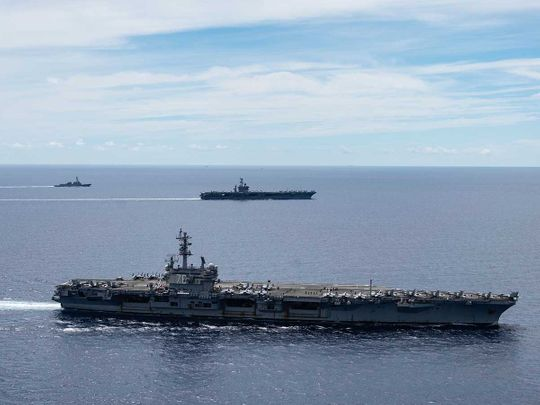 20200827 us aircraft carriers