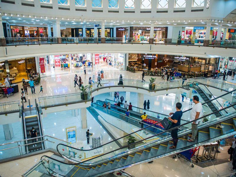 Deira city center Mall shopping sale