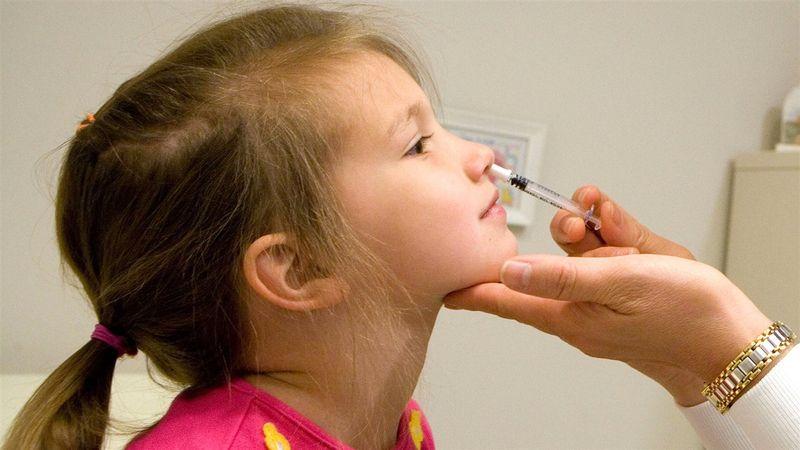 FluMist needle free flu vaccine