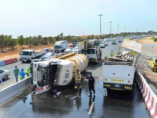 Sharjah Accident