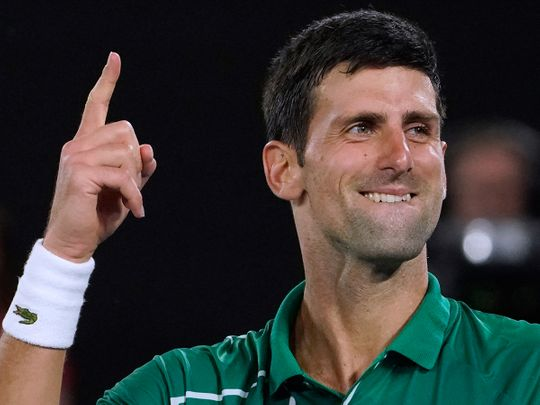 Novak Djokovic is top seed for the US Open