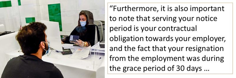 serving your notice period is your contractual obligation towards your employer