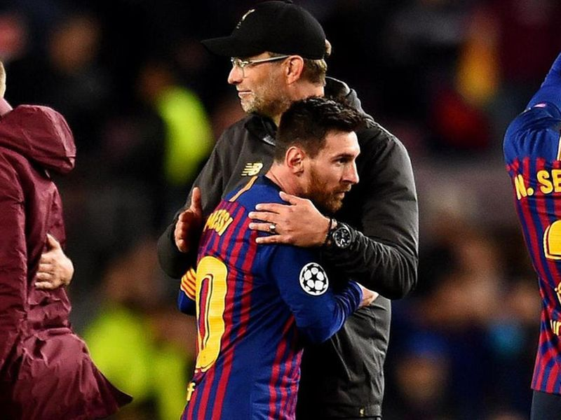 Lionel Messi will not be playing for Liverpool boss Jurgen Klopp