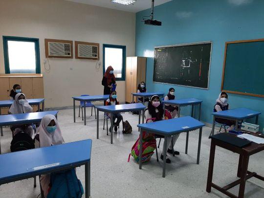 Abu Dhabi school opening