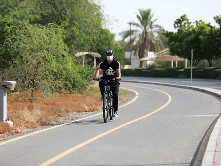 NAT 200830 Cycling track in Mushrif Park-1598785458037