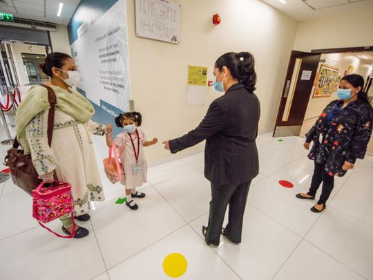 Take A Sneak Peek At What The First Day Back To School Was Like In Dubai Education Gulf News