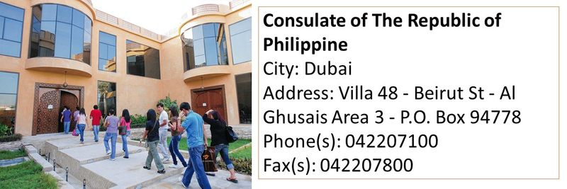 Consulates and embassies in the UAE