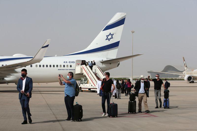 Stock UAE Israel Abu Dhabi