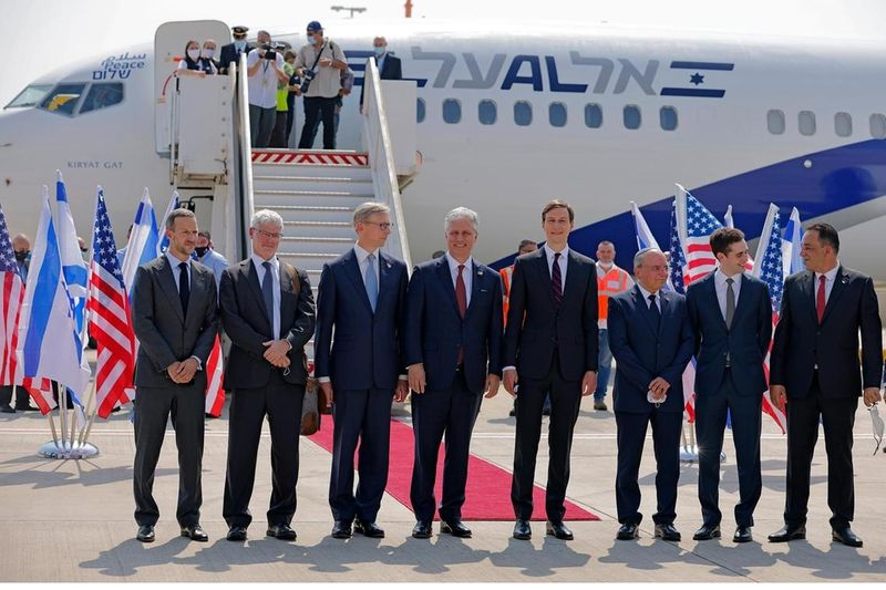 Pictures: US-Israeli delegation lands in the UAE | News-photos – Gulf News