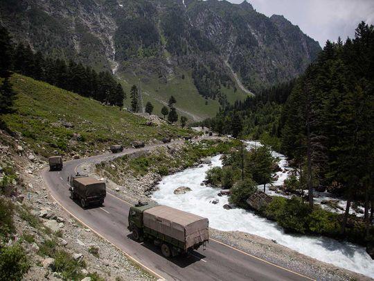 INdia china border army Kashmir