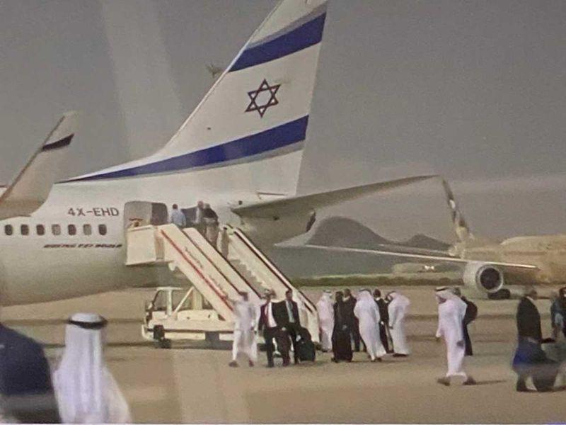 Israel-UAE commercial flight