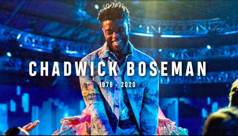 MTV VMAs paid tribute to Chadwick Boseman