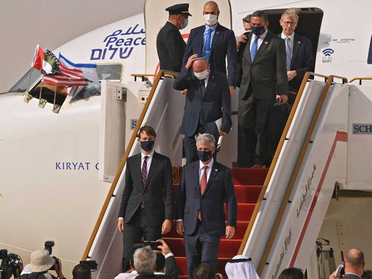 UAE-Israeli flight