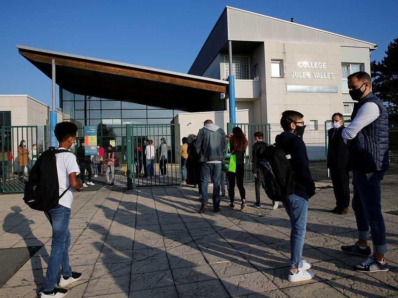France schools open covid