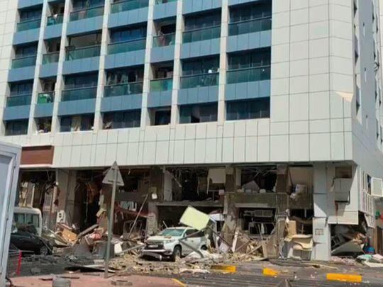 OPN 200901 Abu Dhabi Explosion