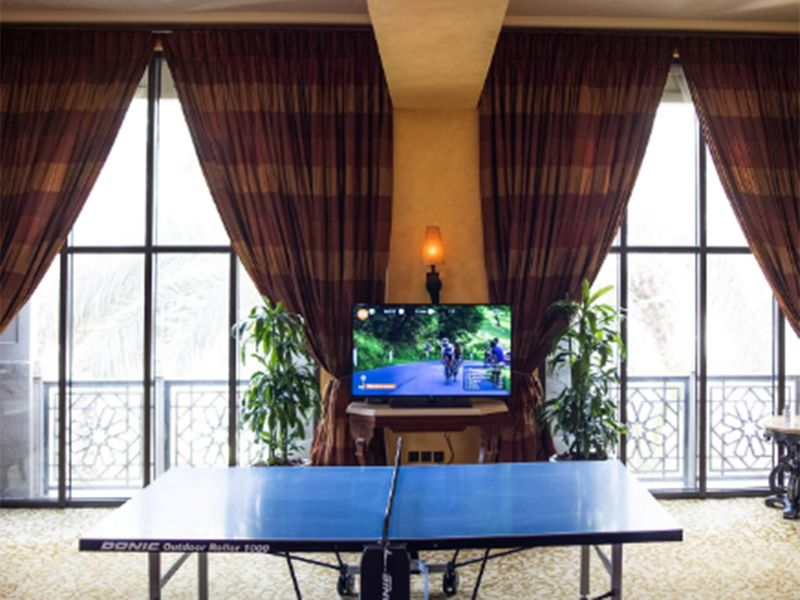 Table tennis while watching TV looks to be on the agenda for the Royals.